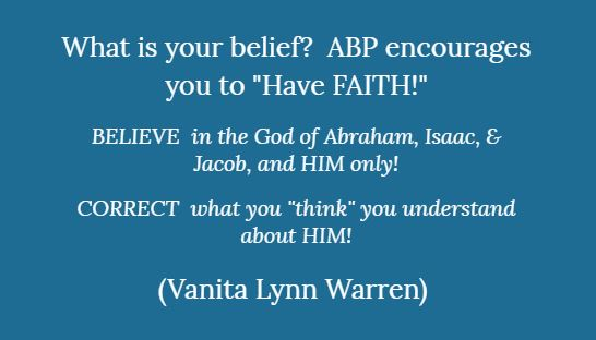 2019-APB-What Is Your Belief